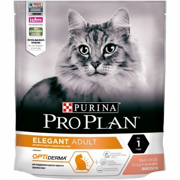 Purina Pro Plan Cat Elegant OptiDerma 10 кг                                            арт. 18322